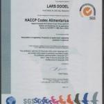 HACCP Codes - Lars DOOEL | Perustija
